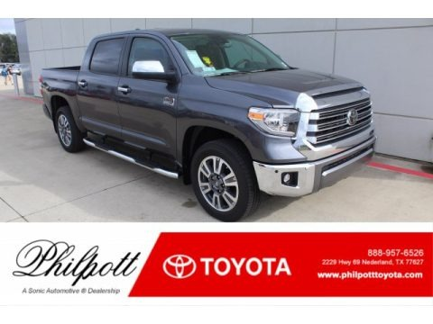 Magnetic Gray Metallic 2020 Toyota Tundra 1794 Edition CrewMax 4x4