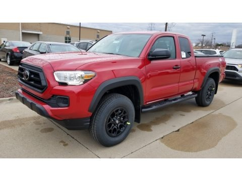 Barcelona Red Metallic 2020 Toyota Tacoma SR Access Cab 4x4