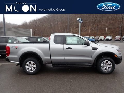 Iconic Silver 2020 Ford Ranger STX SuperCab 4x4