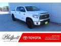 Toyota Tundra TSS Off Road CrewMax Super White photo #1