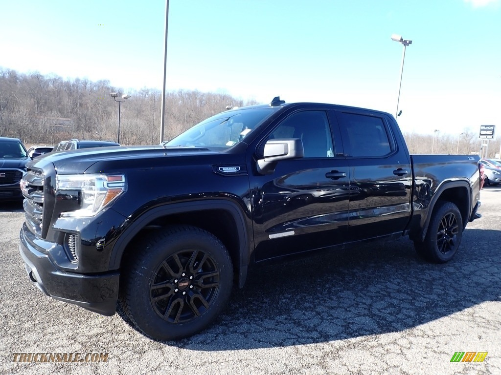 2020 Sierra 1500 Elevation Crew Cab 4WD - Onyx Black / Jet Black photo #1