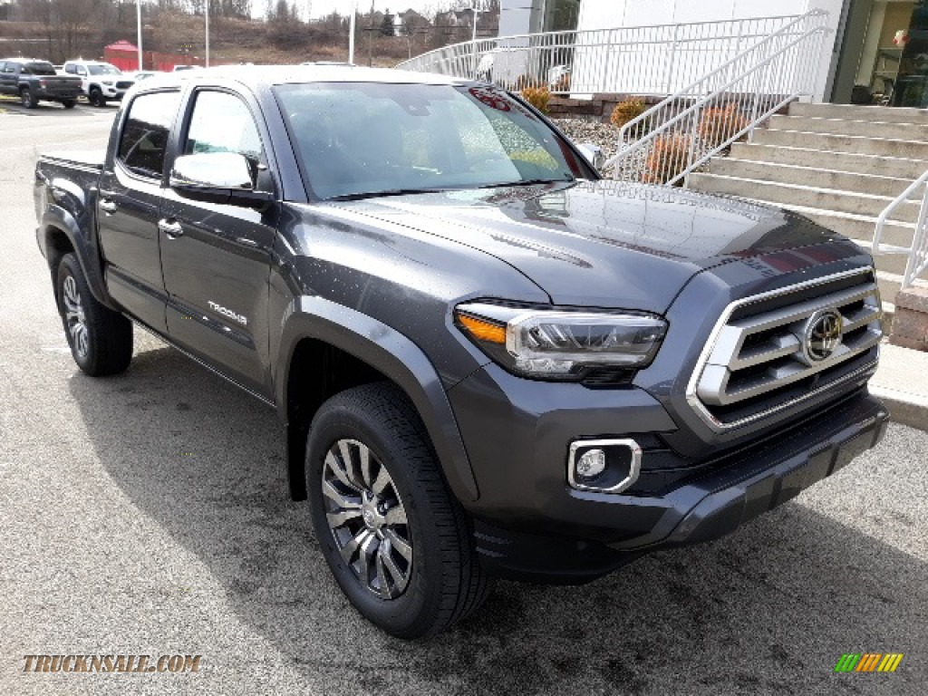 2020 Tacoma Limited Double Cab 4x4 - Magnetic Gray Metallic / Hickory photo #1