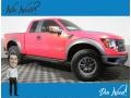 Ford F150 SVT Raptor SuperCab 4x4 Molten Orange Tri Coat photo #1