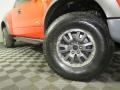 Ford F150 SVT Raptor SuperCab 4x4 Molten Orange Tri Coat photo #3