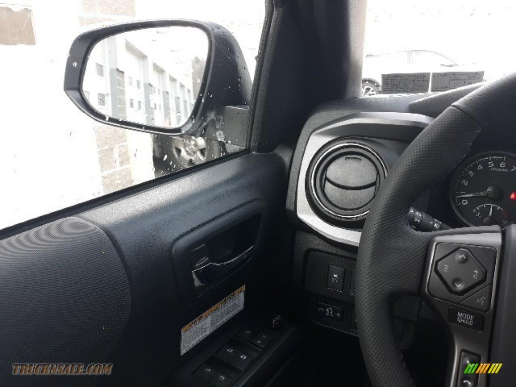 2020 Tacoma TRD Sport Double Cab 4x4 - Super White / TRD Cement/Black photo #10