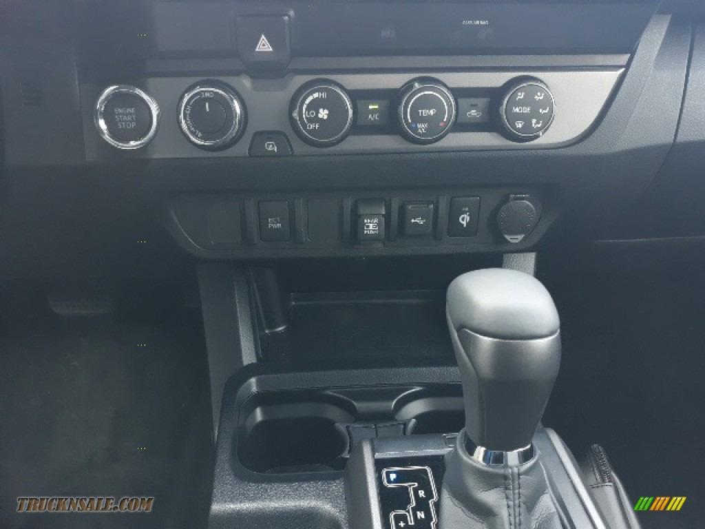 2020 Tacoma TRD Sport Double Cab 4x4 - Super White / TRD Cement/Black photo #16