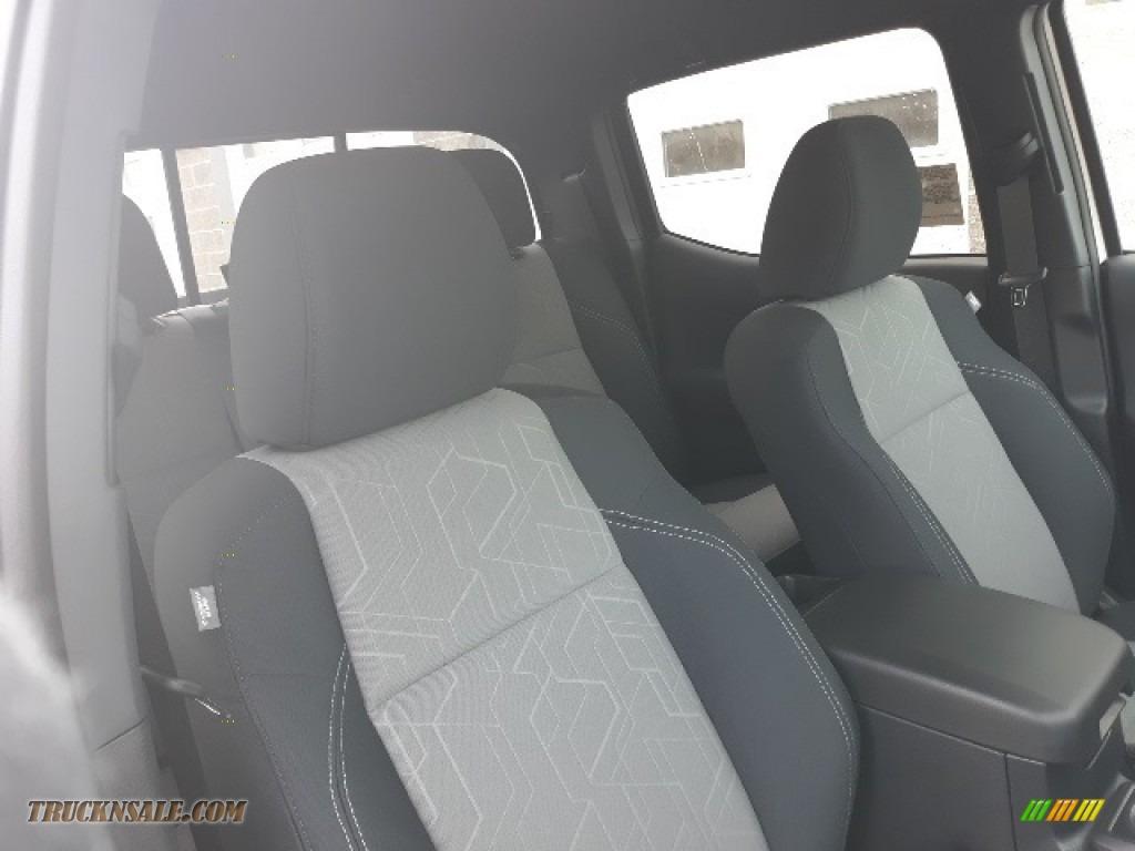 2020 Tacoma TRD Sport Double Cab 4x4 - Super White / TRD Cement/Black photo #29
