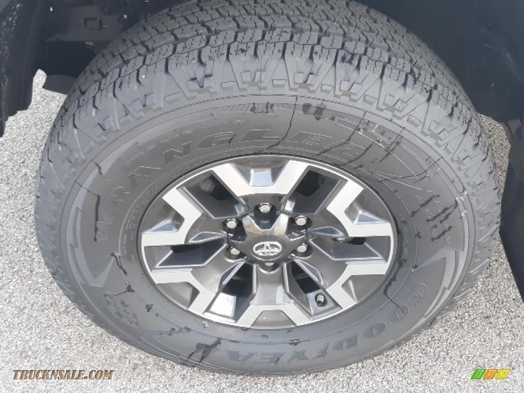 2020 Tacoma TRD Sport Double Cab 4x4 - Super White / TRD Cement/Black photo #39