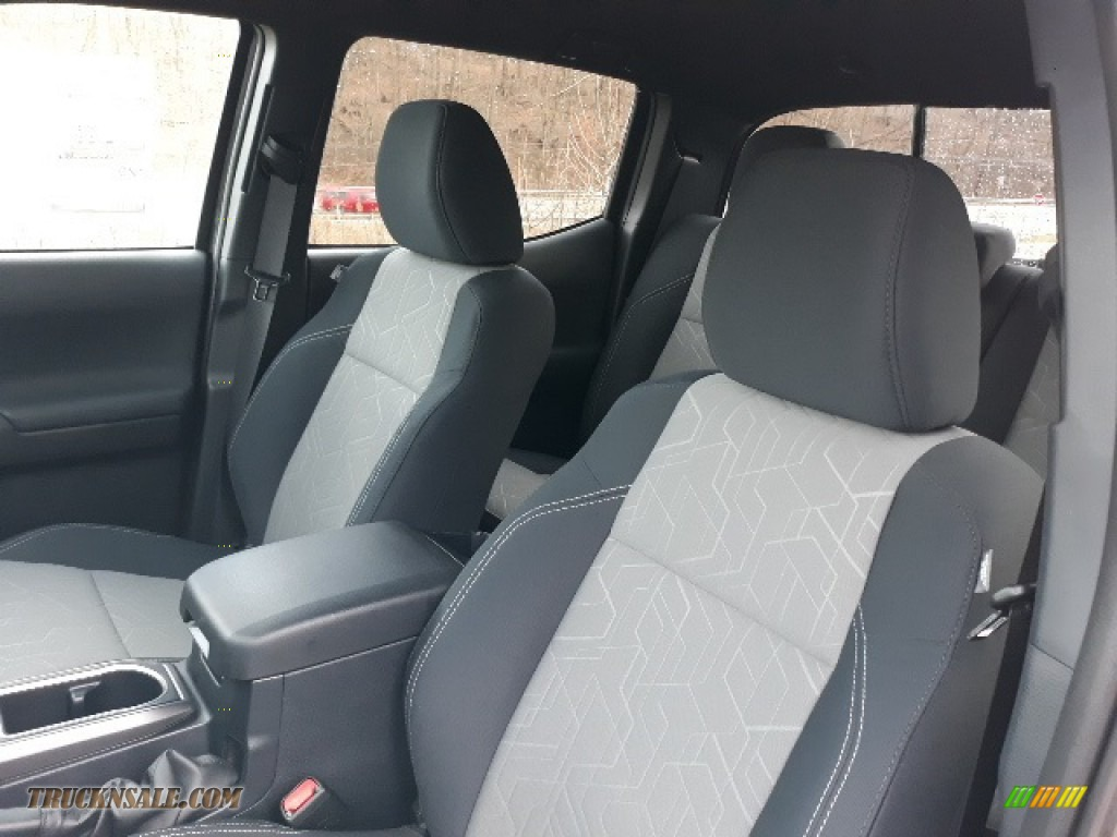 2020 Tacoma TRD Sport Double Cab 4x4 - Magnetic Gray Metallic / TRD Cement/Black photo #21