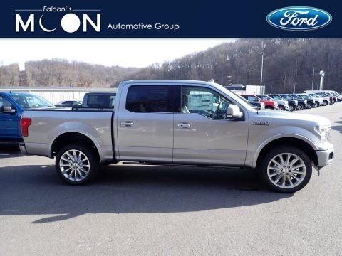 Iconic Silver 2020 Ford F150 Limited SuperCrew 4x4