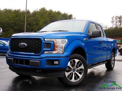Velocity Blue 2020 Ford F150 STX SuperCab 4x4