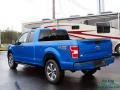 Ford F150 STX SuperCab 4x4 Velocity Blue photo #3
