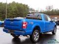Ford F150 STX SuperCab 4x4 Velocity Blue photo #5