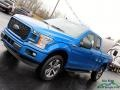 Ford F150 STX SuperCab 4x4 Velocity Blue photo #30