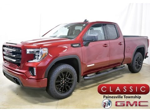 Red Quartz Tintcoat 2020 GMC Sierra 1500 Elevation Double Cab 4WD