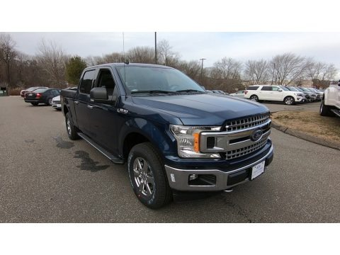 Blue Jeans 2020 Ford F150 XLT SuperCrew 4x4