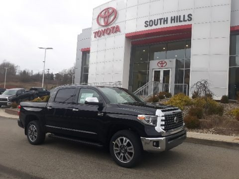Midnight Black Metallic 2020 Toyota Tundra 1794 Edition CrewMax 4x4