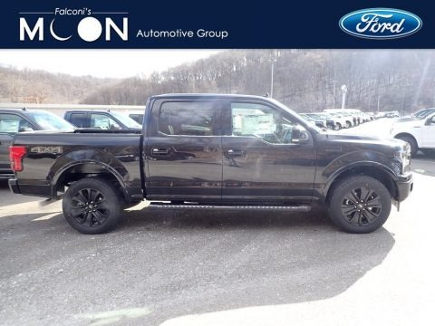 Agate Black 2020 Ford F150 Lariat SuperCrew 4x4