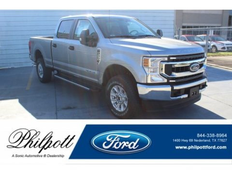 Iconic Silver 2020 Ford F250 Super Duty XLT Crew Cab 4x4