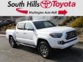 Toyota Tacoma Limited Double Cab 4x4 Blizzard White Pearl photo #1