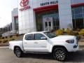 Toyota Tacoma Limited Double Cab 4x4 Blizzard White Pearl photo #2