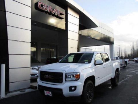 Summit White 2020 GMC Canyon SLE Crew Cab 4WD