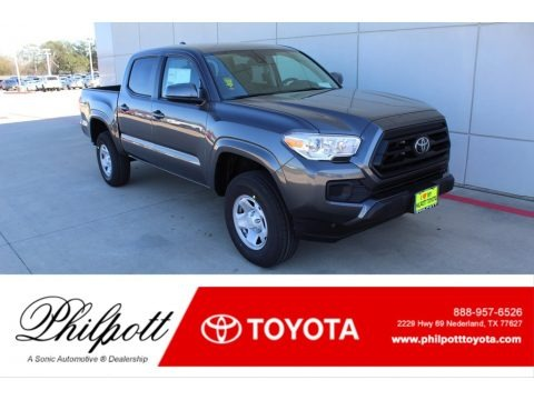 Magnetic Gray Metallic 2020 Toyota Tacoma SR Double Cab