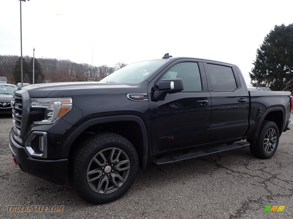 2020 Sierra 1500 AT4 Crew Cab 4WD - Onyx Black / Jet Black photo #1
