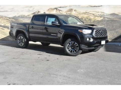 Midnight Black Metallic 2020 Toyota Tacoma TRD Sport Double Cab 4x4