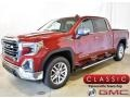 GMC Sierra 1500 SLT Crew Cab 4WD Red Quartz Tintcoat photo #1