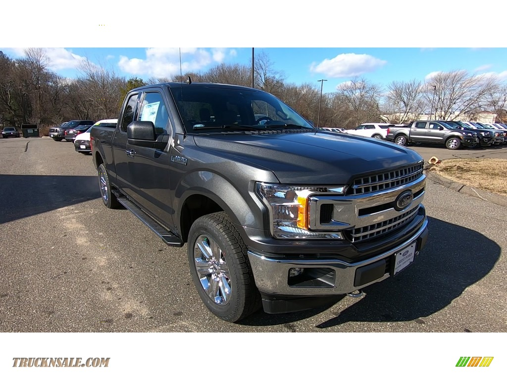 2020 F150 XLT SuperCab 4x4 - Magnetic / Medium Earth Gray photo #1