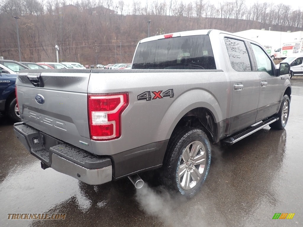 2020 F150 XLT SuperCrew 4x4 - Iconic Silver / Medium Earth Gray photo #2