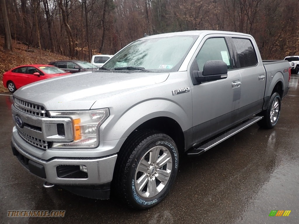 2020 F150 XLT SuperCrew 4x4 - Iconic Silver / Medium Earth Gray photo #5