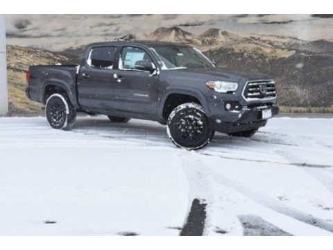 Magnetic Gray Metallic 2020 Toyota Tacoma SR5 Double Cab 4x4