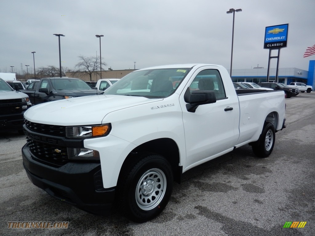 2020 Silverado 1500 WT Regular Cab - Summit White / Jet Black photo #1