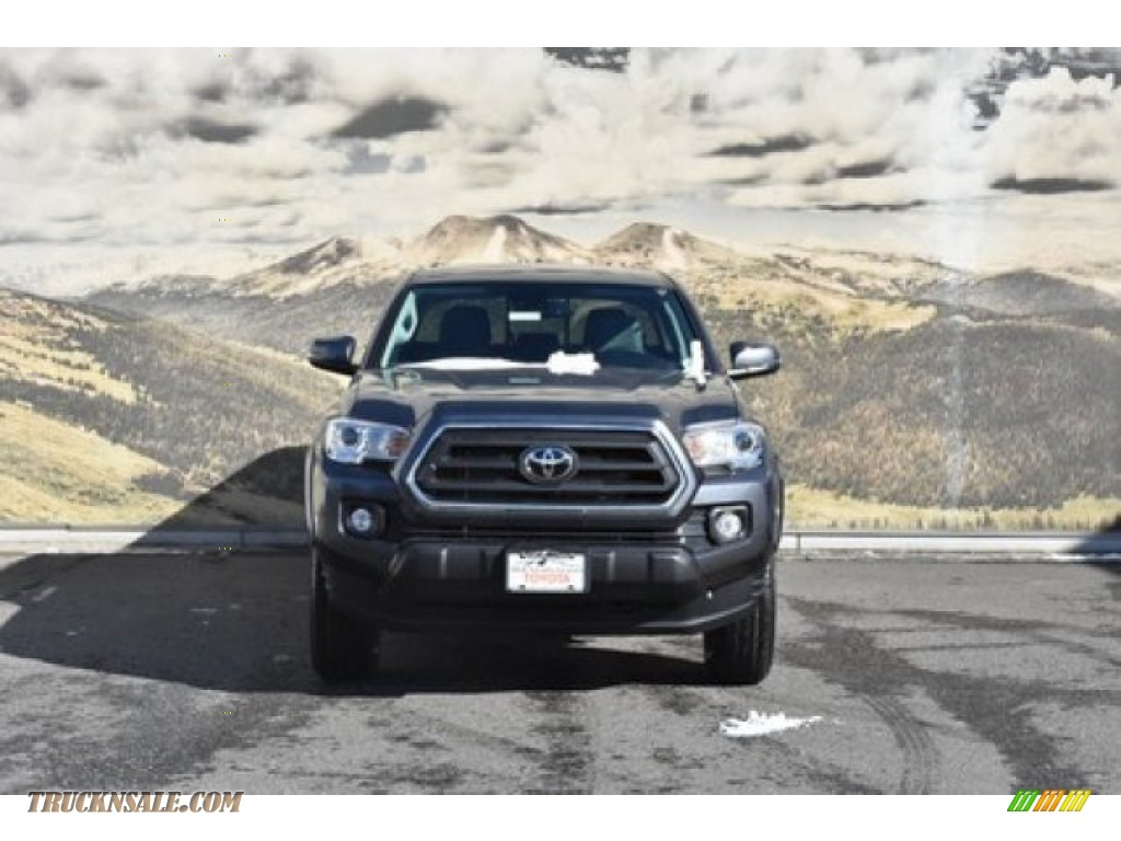 2020 Tacoma SR5 Double Cab 4x4 - Magnetic Gray Metallic / Cement photo #2