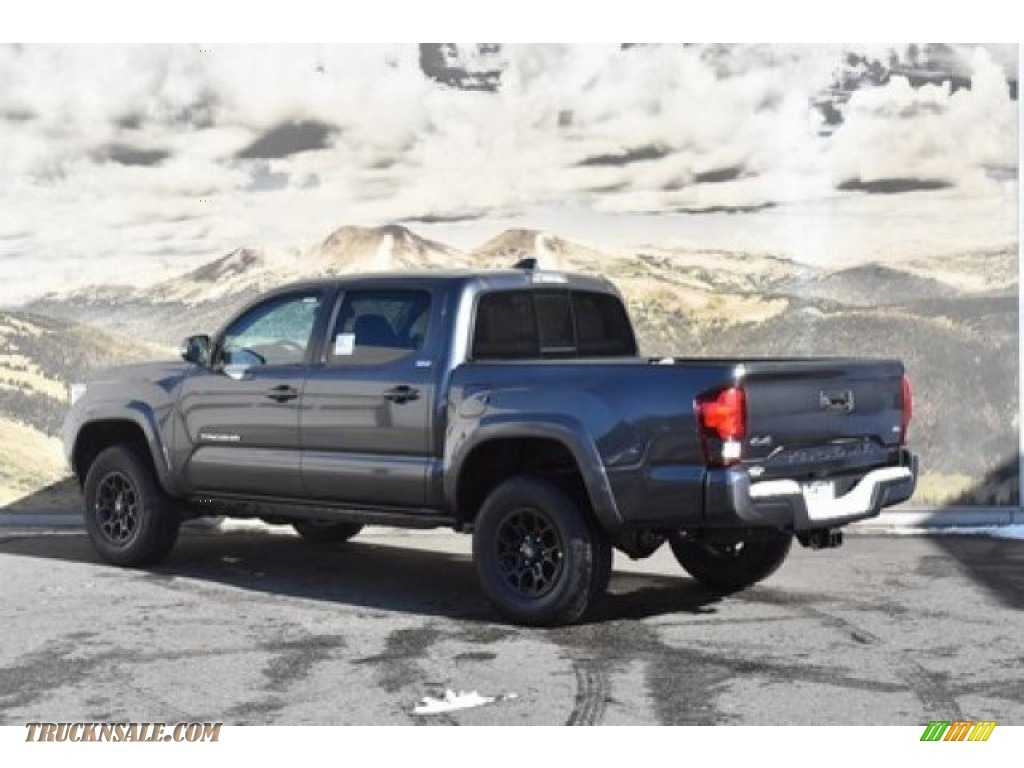 2020 Tacoma SR5 Double Cab 4x4 - Magnetic Gray Metallic / Cement photo #3