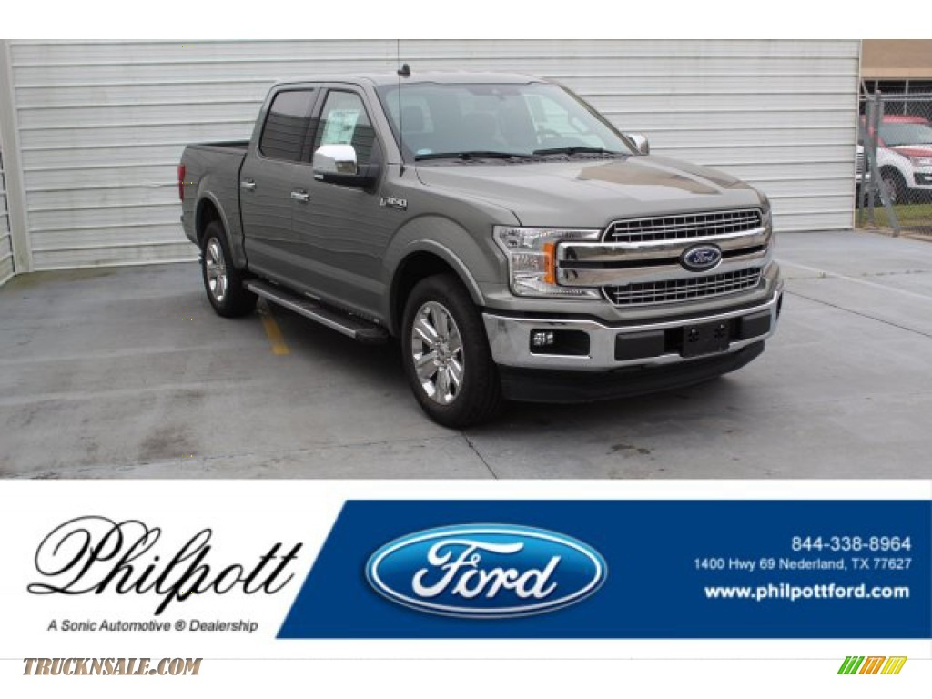 2020 F150 XLT SuperCrew - Silver Spruce / Black photo #1