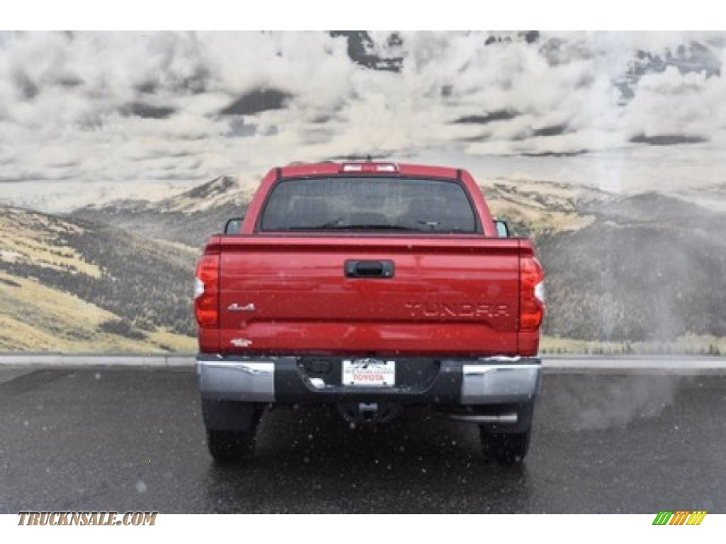 2020 Tundra SR5 CrewMax 4x4 - Barcelona Red Metallic / Graphite photo #4