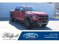 Ford F150 SVT Raptor SuperCrew 4x4 Rapid Red photo #1
