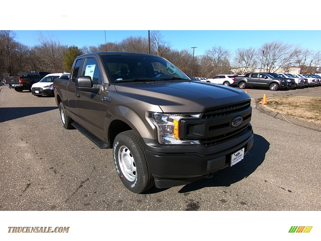 2020 F150 XL SuperCab 4x4 - Stone Gray / Medium Earth Gray photo #1