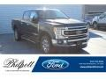 Ford F250 Super Duty Lariat Crew Cab 4x4 Agate Black photo #1