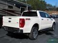 Ford Ranger Lariat SuperCrew 4x4 White Platinum photo #5