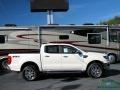 Ford Ranger Lariat SuperCrew 4x4 White Platinum photo #6