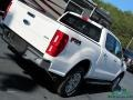 Ford Ranger Lariat SuperCrew 4x4 White Platinum photo #31