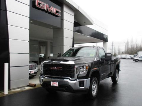 Onyx Black 2020 GMC Sierra 2500HD Regular Cab 4x4
