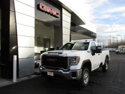 Summit White 2020 GMC Sierra 2500HD Regular Cab