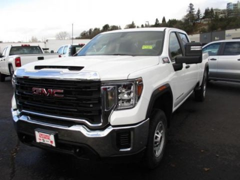 Summit White 2020 GMC Sierra 2500HD Crew Cab 4WD