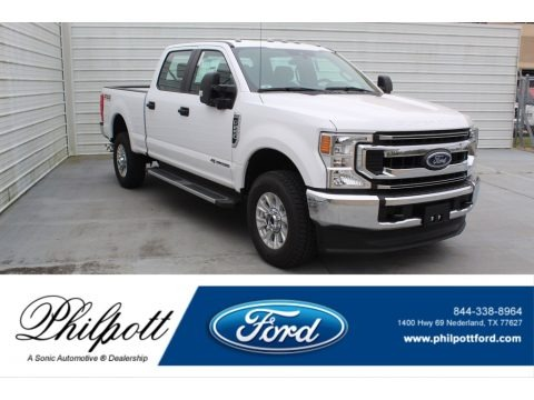 Oxford White 2020 Ford F250 Super Duty XLT Crew Cab 4x4