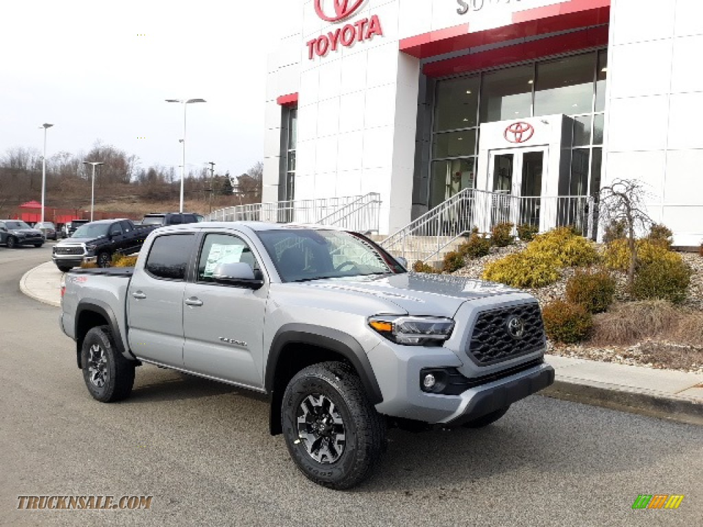 2020 Tacoma TRD Off Road Double Cab 4x4 - Cement / Black photo #1
